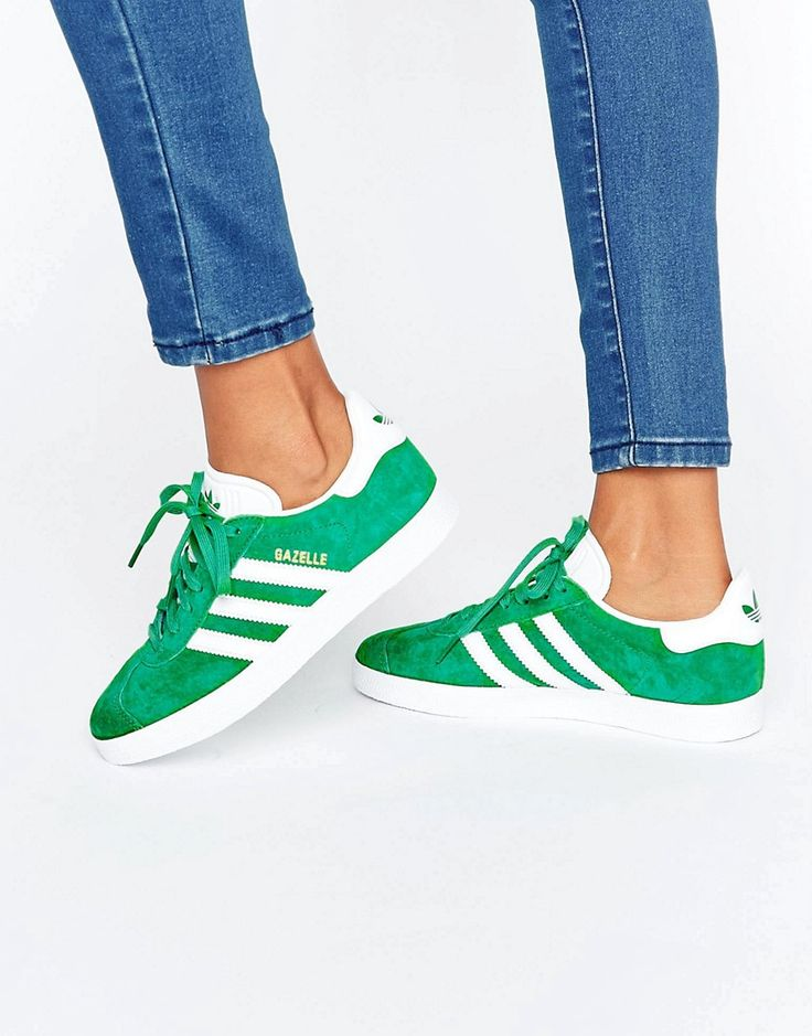adidas gazelle vertes femme