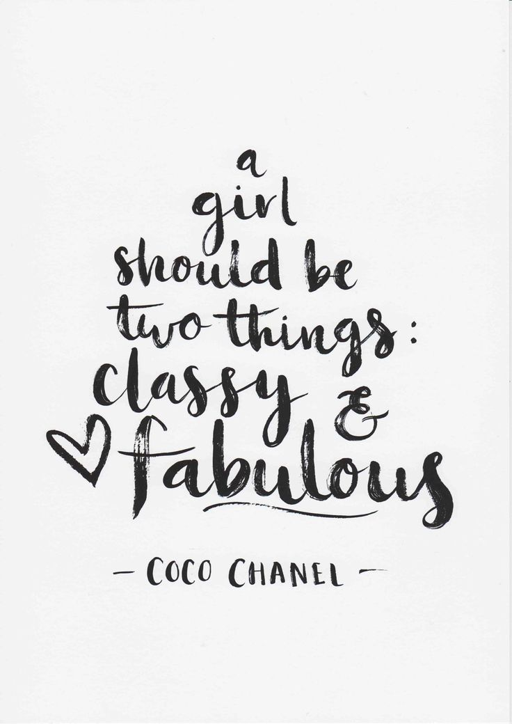 Coco Chanel Print A Girl Should Be Two Things Quote Minimalist Decor Teen  Girl Room Decor Fashion Wall Art Chanel Quote Art Typography Print