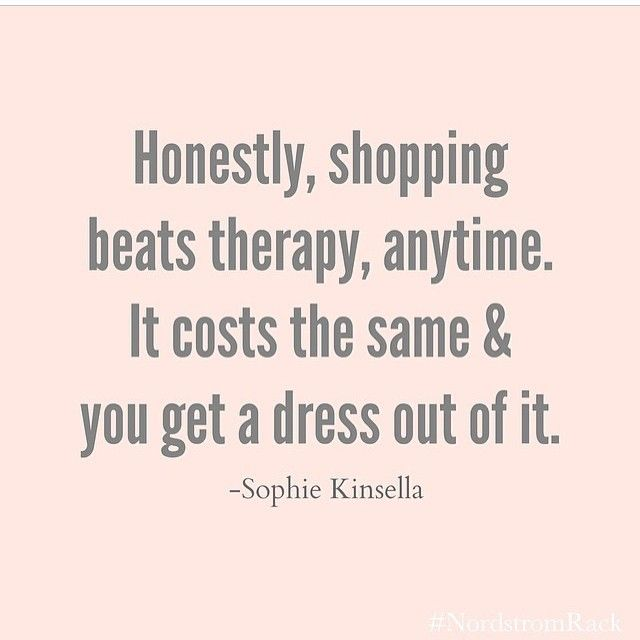 Fashion Quotes : shopping beats therapy... - YouFashion.net ...