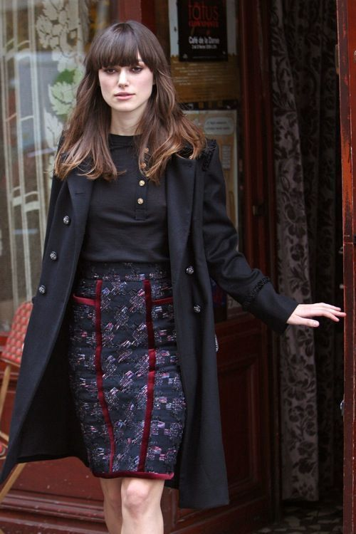 Trendy Hair Style Keira Knightley Rue Leading Fashion Lifestyle Magazine