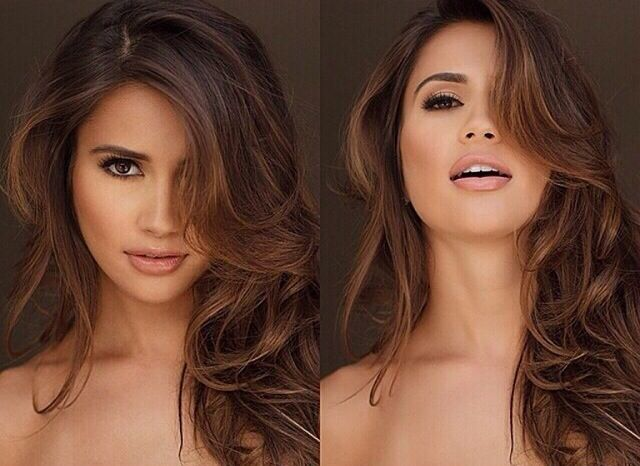Trendy Hair Style Warm Brown Hair Makeup Youfashion Net Leading Fashion Lifestyle Magazine