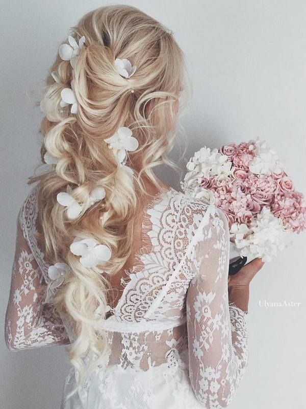 Best hair style for bride ulyana aster long wedding hairstyles best hair style for bride junglespirit Images