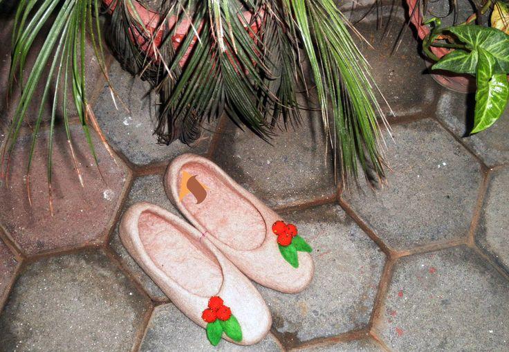 how to make felt slippers youtube
