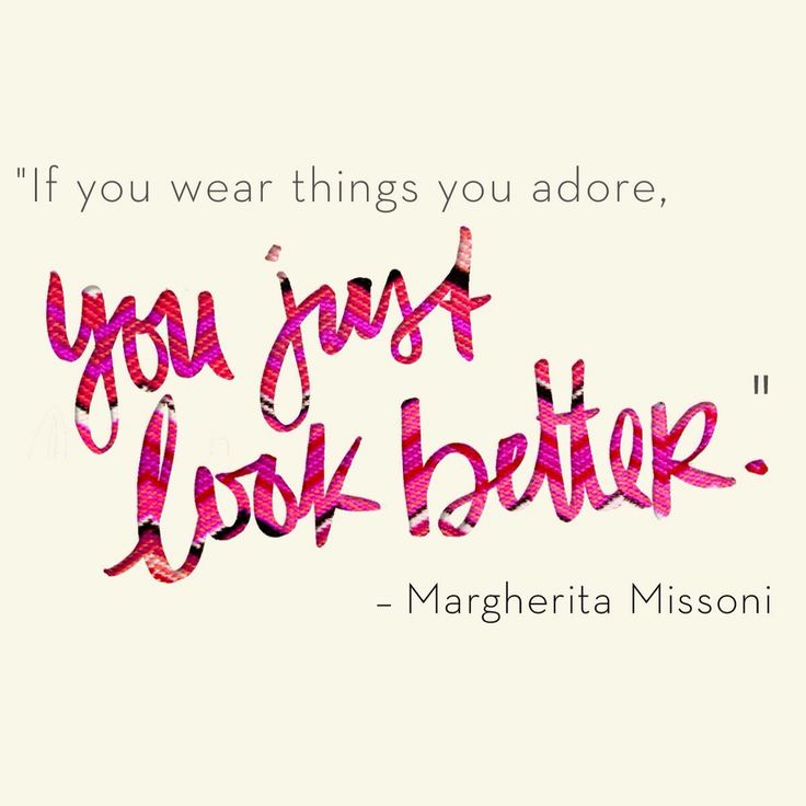 Fashion Quotes Beauty Inspiration From Margherita