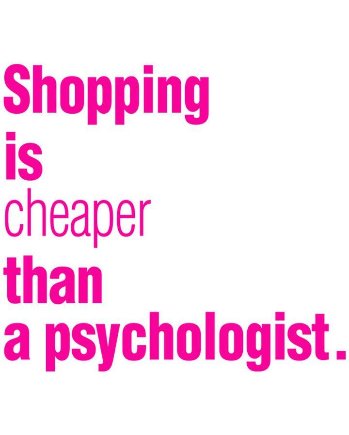 Fashion Quotes : Shopping & Therapy - YouFashion.net ...