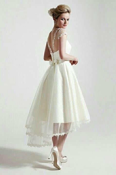 Short Wedding Dresses : {Bridal} Sassie Holford. Lovely short summer ...