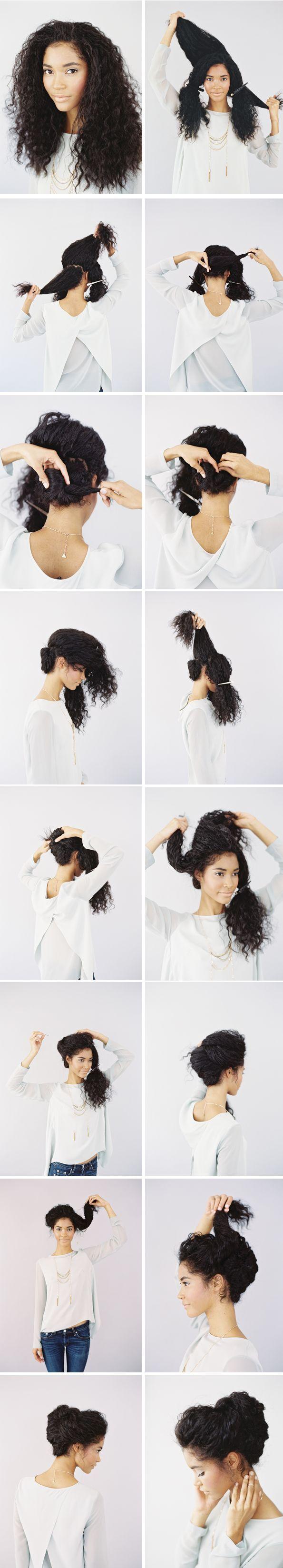 Trendy Hair Style Tuto Coiffure Pour Cheveux Fris S Leading Fashion