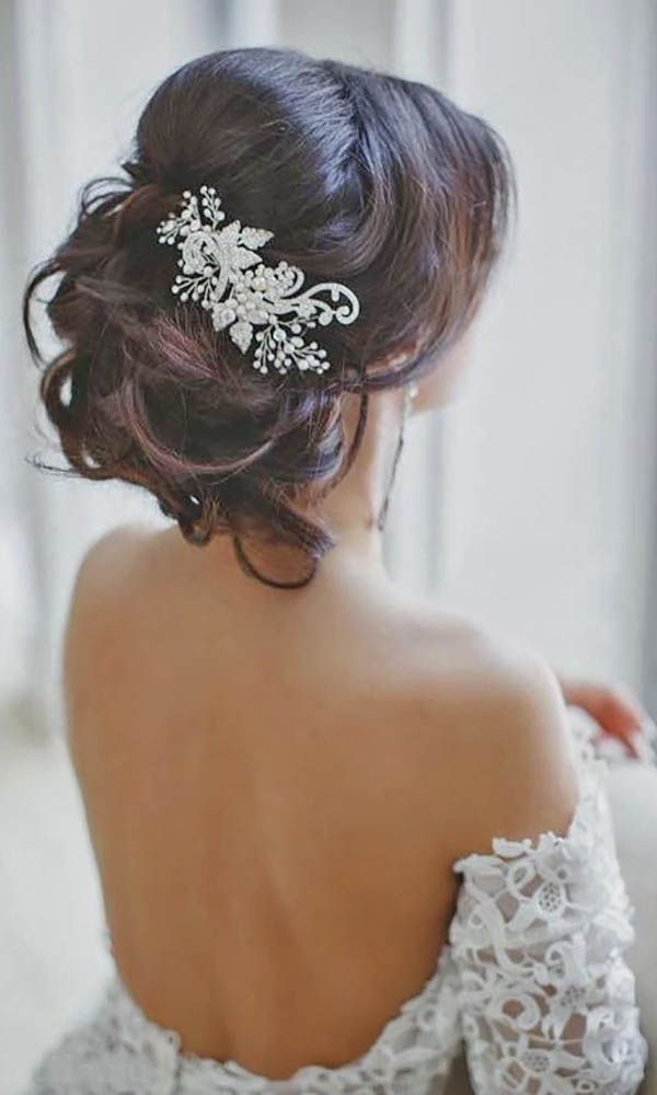 Wedding hair with flowers jewels 30 wedding hairstyles wedding hair with flowers jewels junglespirit Choice Image