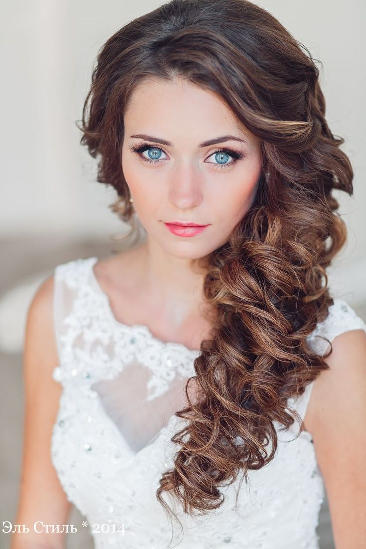 Best Hair Style For Bride Long Half Up Wavy Wedding Hairstyle