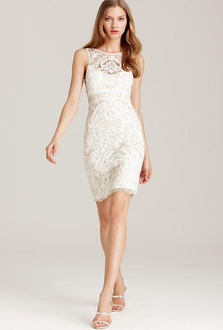 Short Wedding Dresses : Brides.com: Affordable Wedding Dresses ...