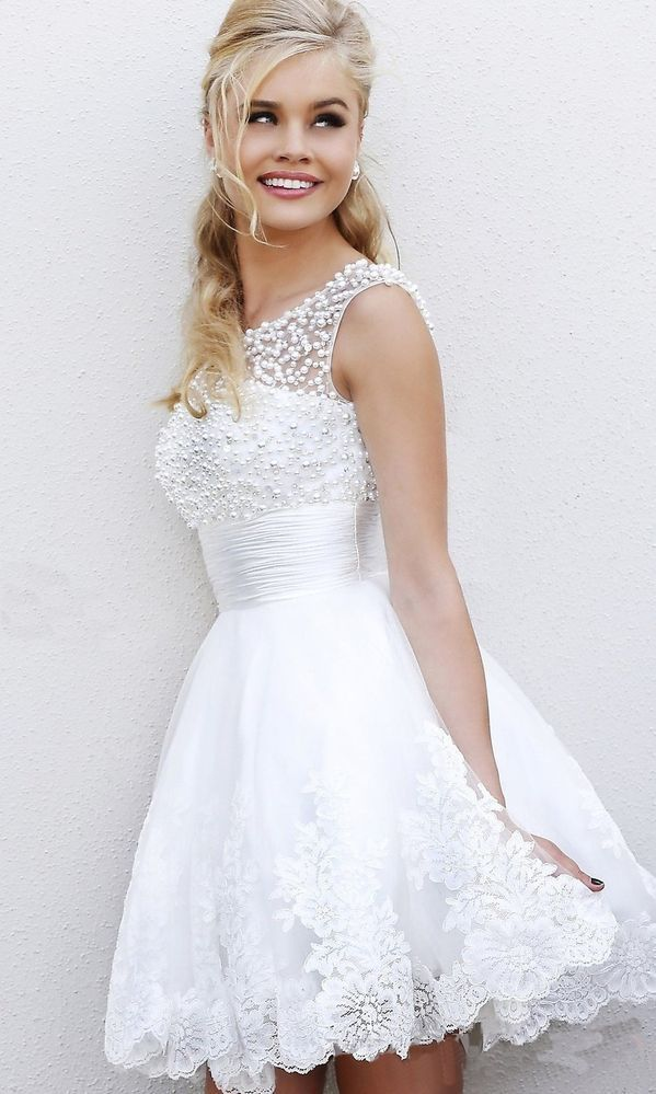 Short wedding dresses i like this one short and sexy2014 new short wedding dresses junglespirit Image collections