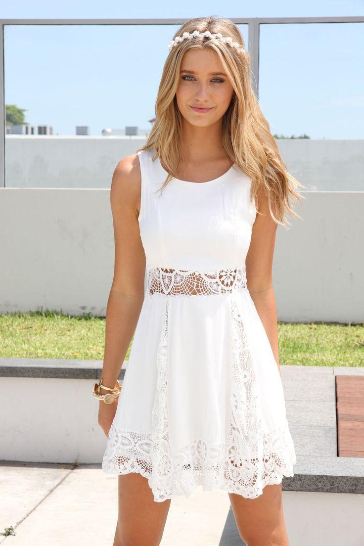 29e12674c734 Short Wedding Dresses   So nice White dress The Fashion  Gorgeous ...