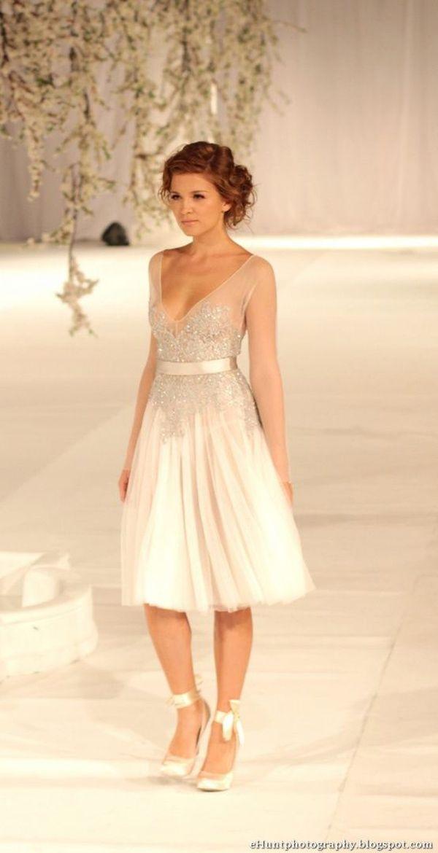 Short Wedding Dresses The Wedding Scoop Spotlight Short Wedding