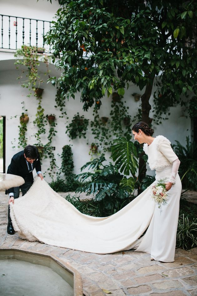 Trendy Wedding Dresses Super Stylish Spanish Wedding Lorena San