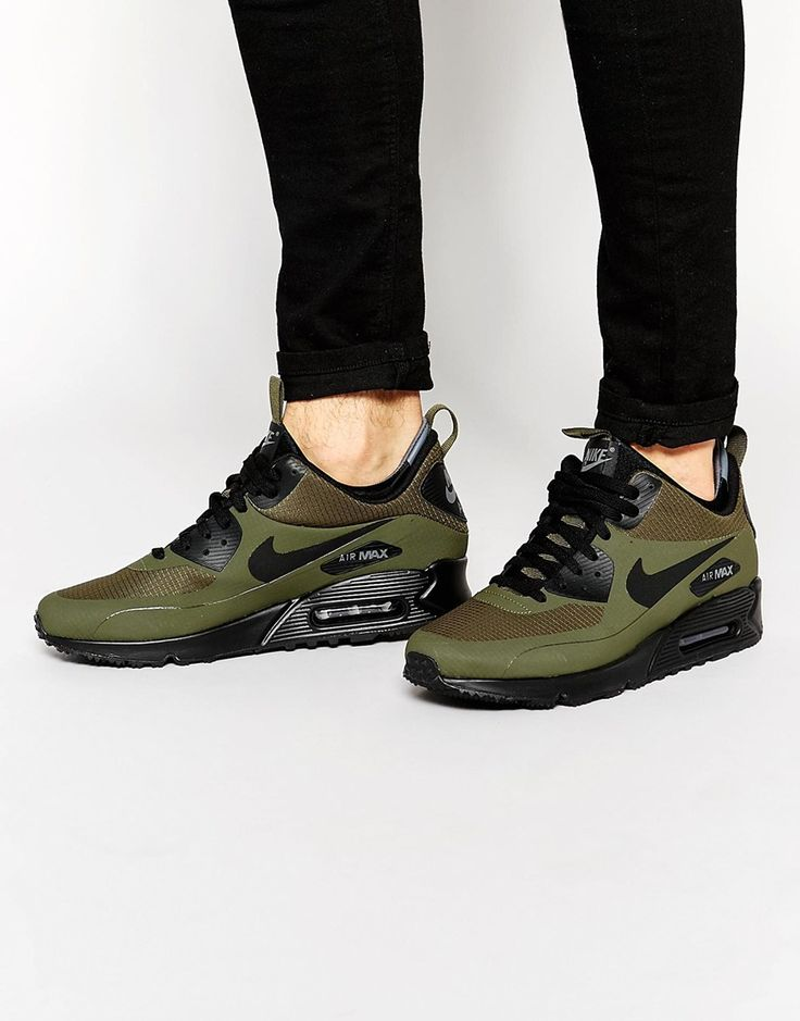 Sneakers Women's Fashion : Nike Air Max 90 Winter Mid