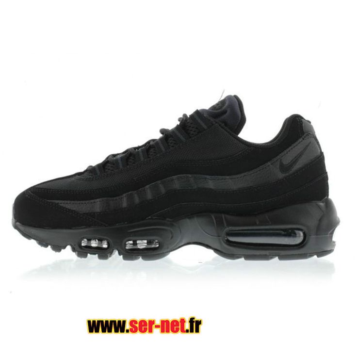 best website 0a6e8 45db6 Nike Air Max 95 Chaussures de Basketball Nike Pas Cher Pour Homme Noir…