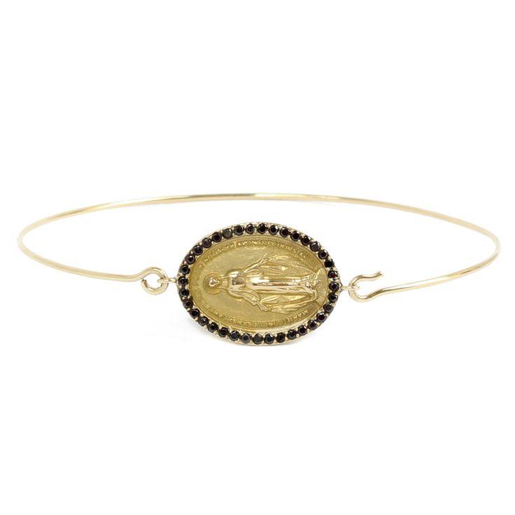 trendy bracelets madone bangle feidt shop it on les. Black Bedroom Furniture Sets. Home Design Ideas