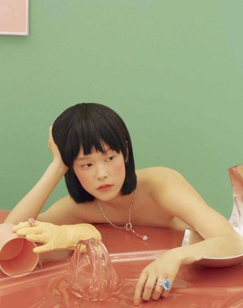 Fashion Editorial : cheongsaam: Pierres Tendres Mae Lapres by Nhu Xuan Hua Styled by…