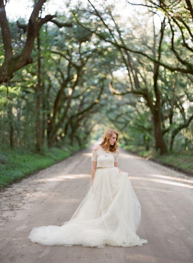 Beautiful brand wedding dresses cream off the shoulder for Off the shoulder wedding dress topper