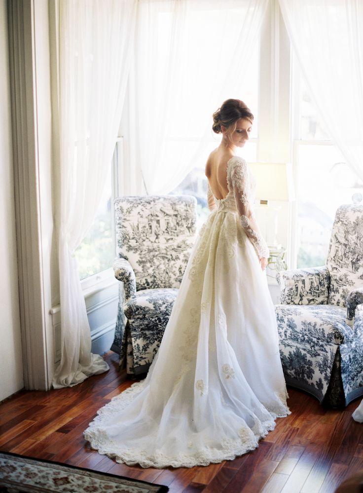 Beautiful brand wedding dresses long sleeve sheer for Long sleeve sheer wedding dresses