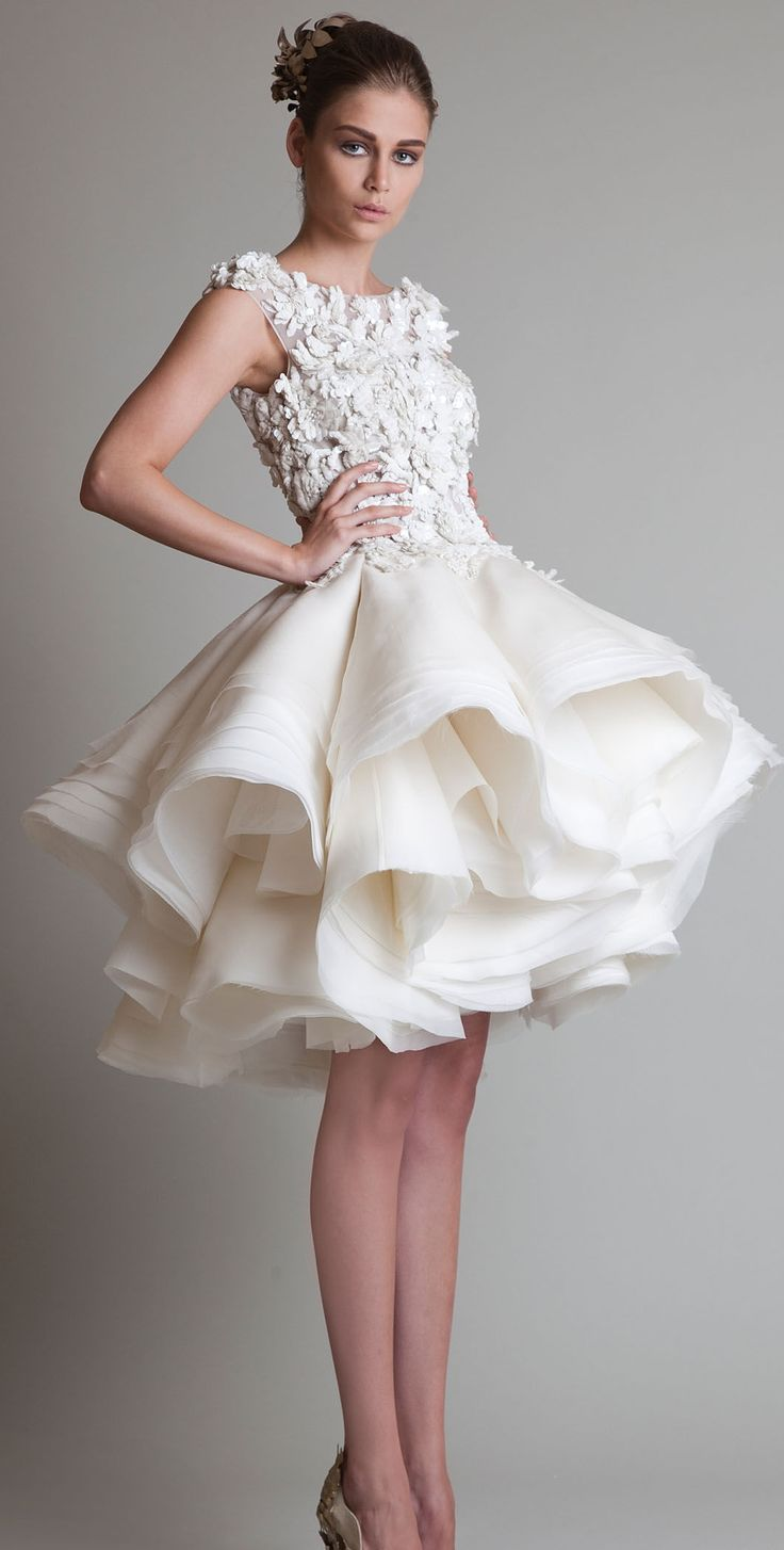 short wedding dresses krikor jabotian couture