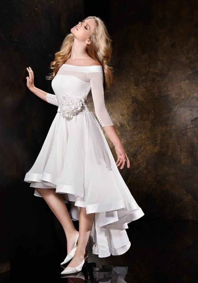 Short Wedding Dresses Vestidos De Fiesta Para Jovenes De