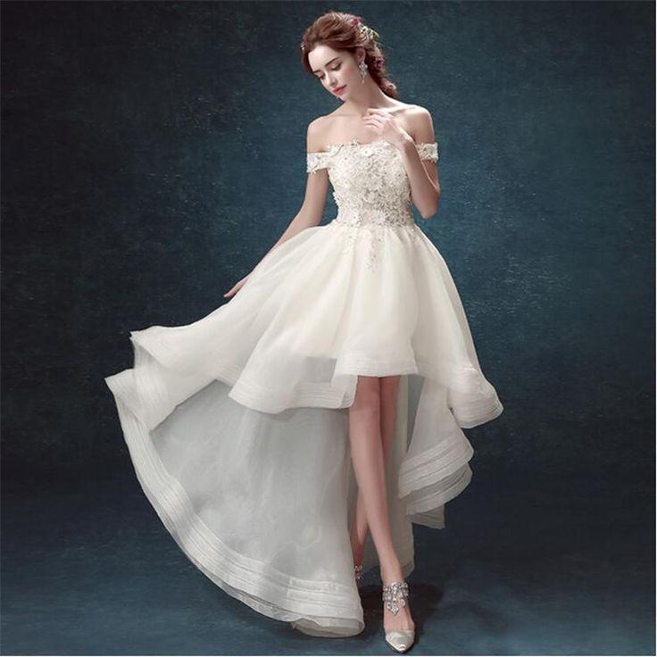 Short Wedding Dresses : Vestidos De Novia 2015 Wedding ...