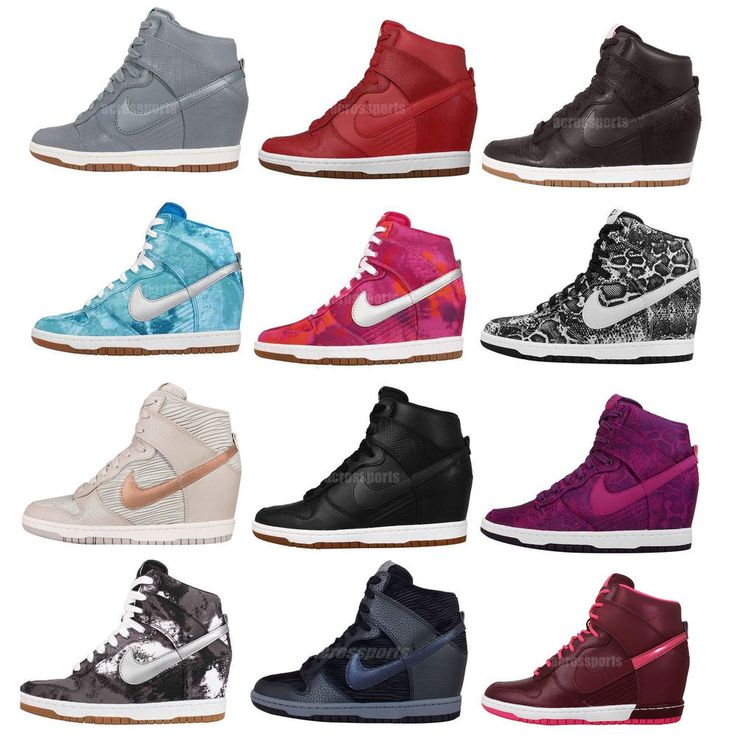 Sneakers Women's Fashion : Wmns Nike Dunk Sky Hi / Print NSW