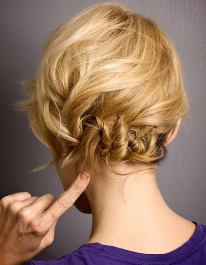 trendy hair style coiffure cheveux mi longs d grad. Black Bedroom Furniture Sets. Home Design Ideas