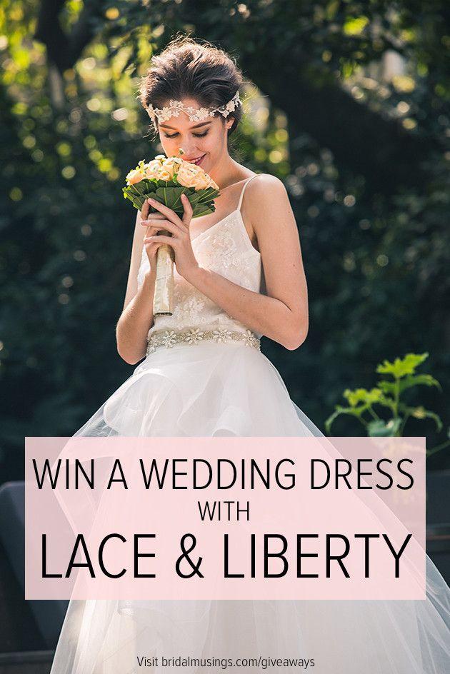 Trendy wedding dresses win a wedding dress lace for Win free wedding dress