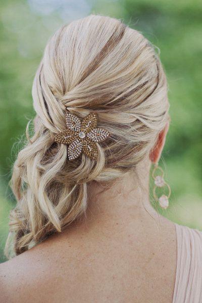 Trendy Hair Style Coiffure Mari E Bride Mariage Wedding Hair Hairstyle Braid Updo
