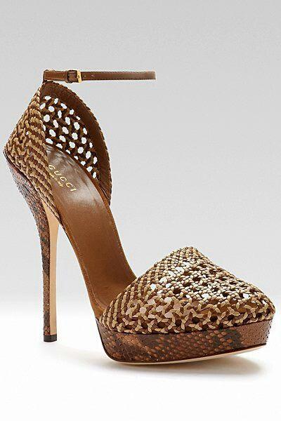 Trendy Women's High Heels : Divinosss estos Gucci