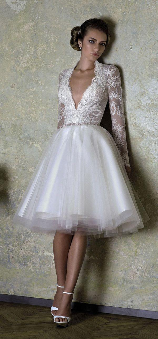 Short Wedding Dresses : 20 unique dresses for the bride who dares to ...