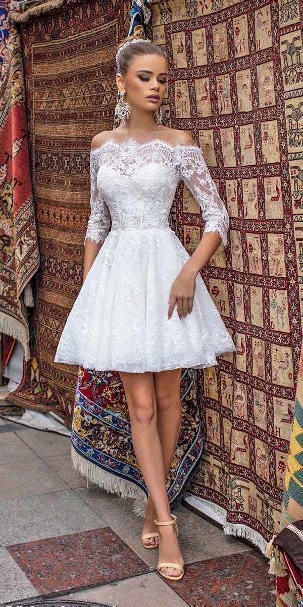 Short Wedding Dresses : 27 Amazing Short Wedding Dresses For Petite ...
