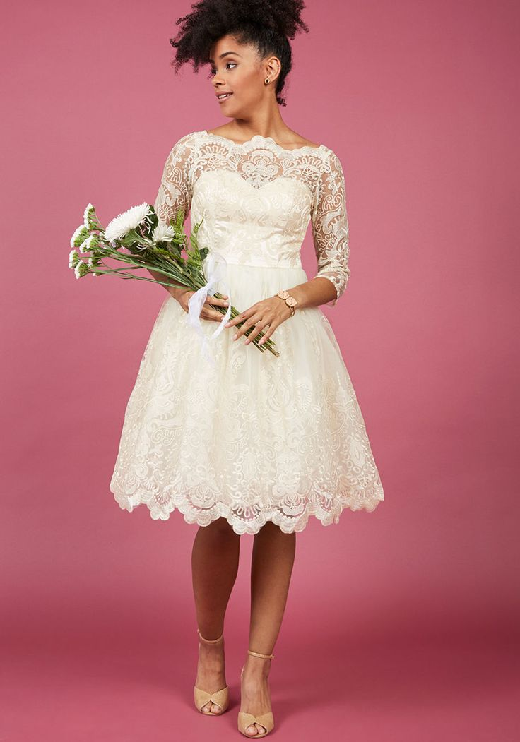 Short Wedding Dresses : Fall in Love With These 7 Romantic ...