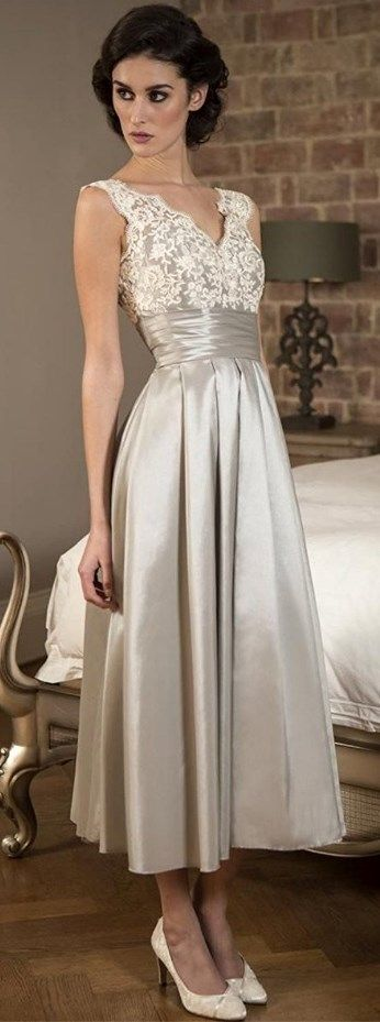 Rustic Mother of Bride Dress