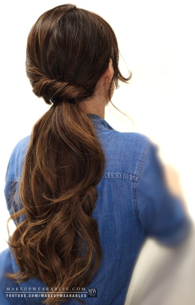Trendy Hair Style How To 4 Easy Lazy Hairstyles For School