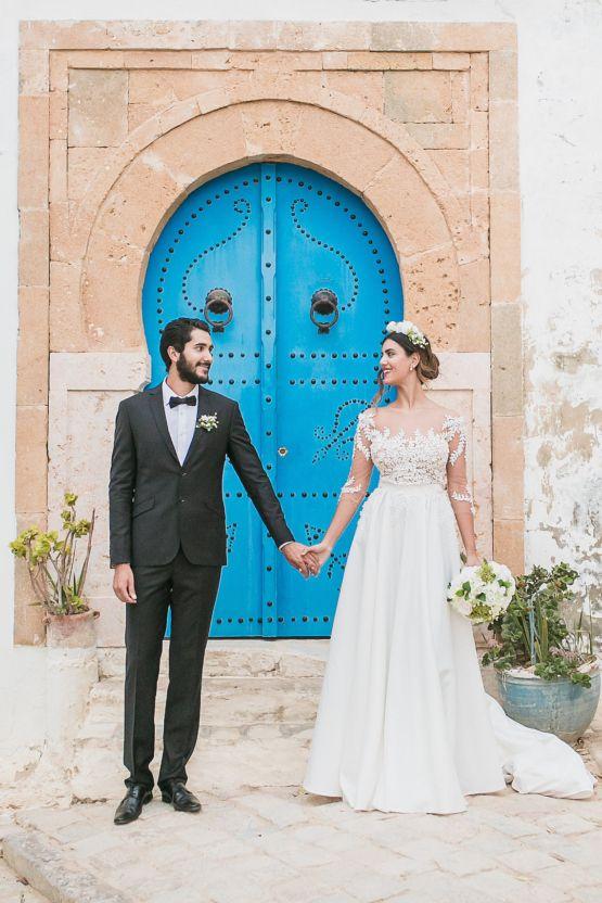 Trendy Wedding Dresses : Mediterranean Meets Africa; Colorful ...