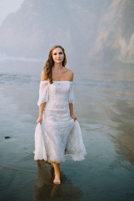 Trendy Wedding Dresses : Allure Bridal\'s Dreamy Boho Wilderly Bride ...