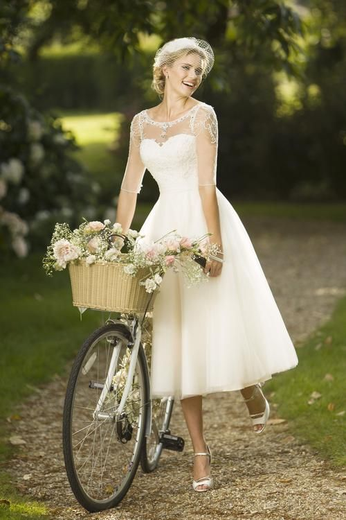 Short Wedding Dresses  : View our range of affordable tea length wedding dresses from Brighton Belle. Fea…