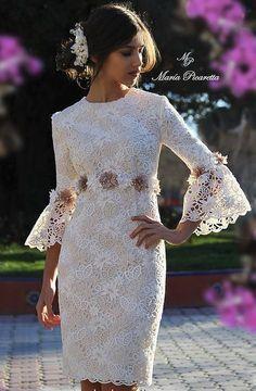 Short Wedding Dresses  : Resultado de imagen de maria picaretta 2017