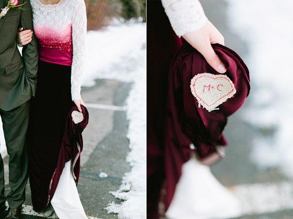 Trendy Wedding Dresses Unique Red Velvet Dip Dyed Lace Wedding Dress Youfashion Net Leading Fashion Lifestyle Magazine,Wedding Dress Patterns For Girls