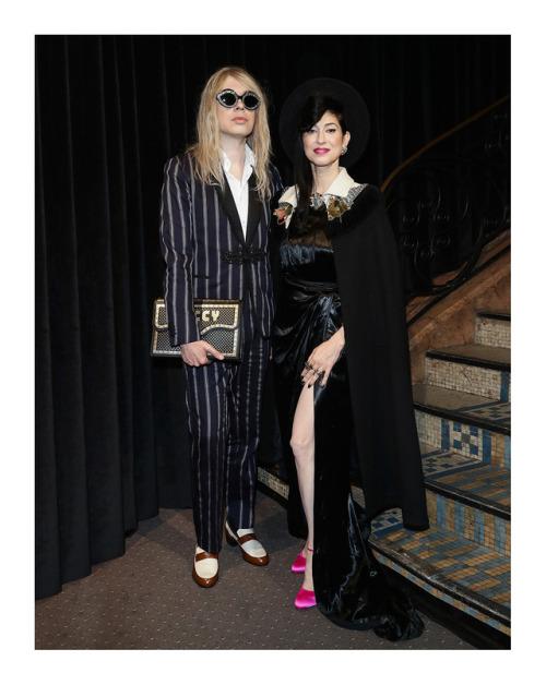 Gucci : Floria Sigismondi, Lawrence Rothman, Bel Powley and Richie…