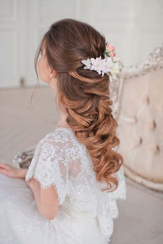 Best Hair Style For Bride   : Art4studio long wedding hairstyles #weddings #hairstyles #bride #fashion ❤️h…