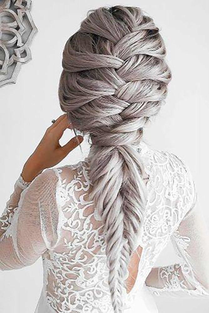 Best Hair Style For Bride   : unique wedding hairstyles braided hair emilyroseunique wedding hairstyles braide…