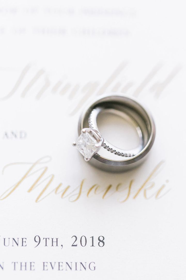 Engagement Rings & Wedding Rings : Creative ring shot; Lianna Marie Photography