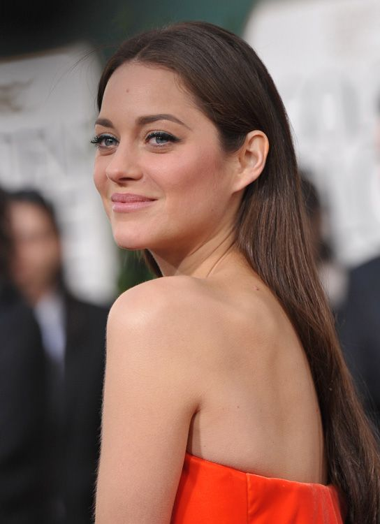 marion cotillard hair color