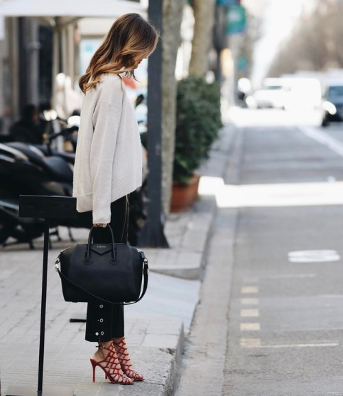 Street Style : Alex Riviere is rocking a super glam spring look, wearing a…
