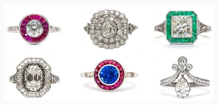 Engagement Rings & Wedding Rings : Antique Inspired Wedding Rings