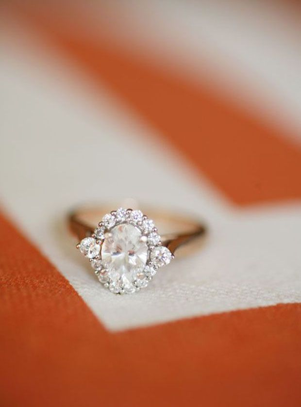 Engagement Rings & Wedding Rings : sparkly engagement ring  ~  we ❤ this! moncheribridals.com